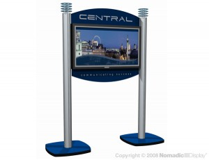 portable display stands