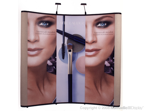 Estee Lauder Portable Display banner